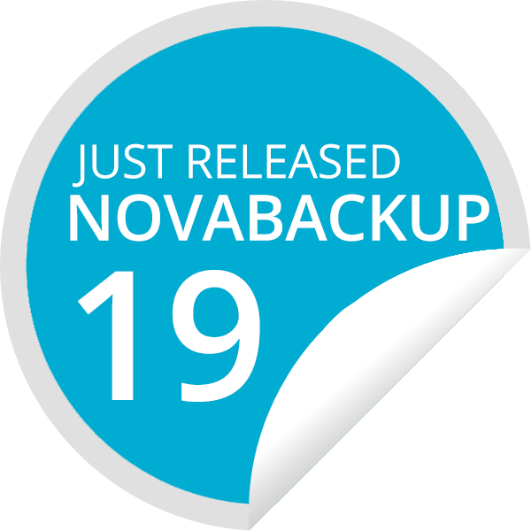 New version NovaBACKUP 19